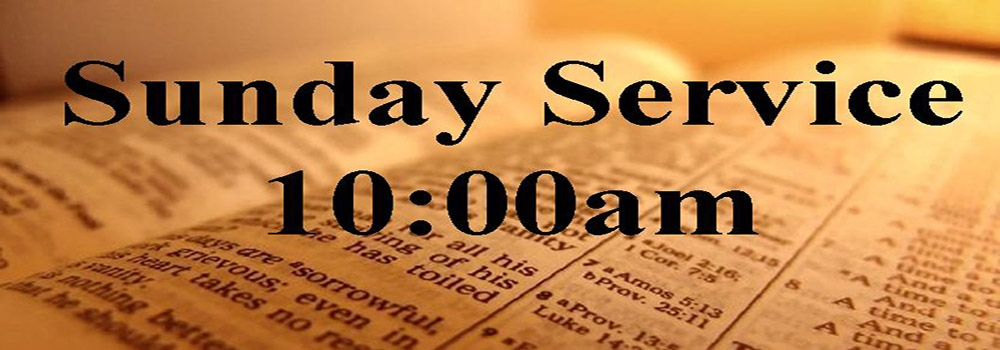 Tamil Worship Service @ 10:00 am.